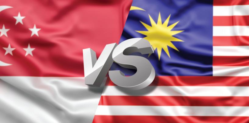 Fintech Singapore Vs Fintech Malaysia Infographic