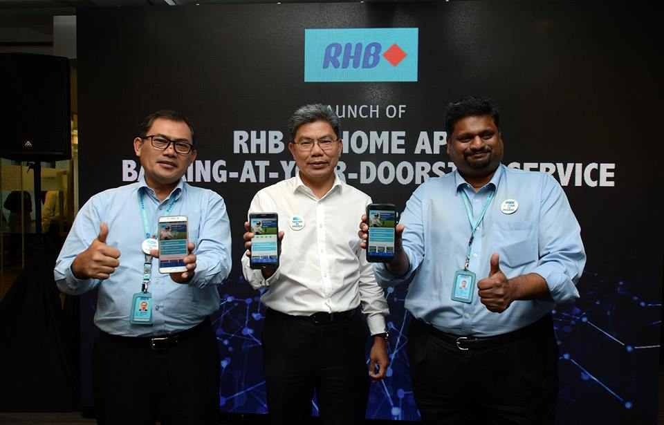 Bank Fintech Malaysia RHB MyHomeApp