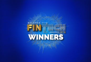 Winners for Malaysia's First Fintech Award