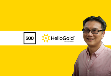 HelloGold Secures Series A from 500 Startups