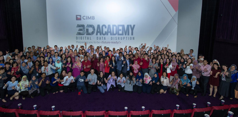 Digital, Data, Disruption: CIMB Pledges RM 75 Million to Its 3D Academy
