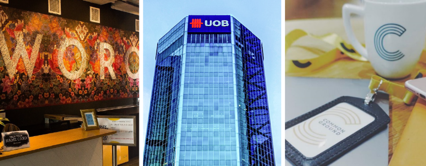 UOB Partners With WORQ & Common Ground to Lower Price Barriers for Startups