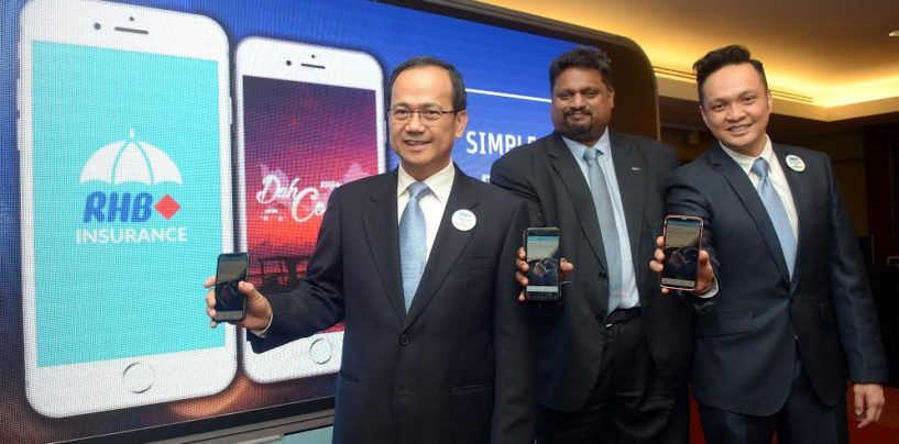 RHB Insurance Mobile App Enables Customers to Purchase Policy in 3 Minutes