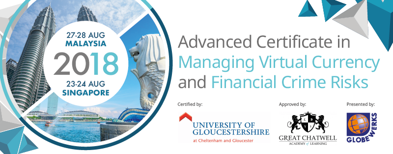 Advance Certificate in Managing Virtual Currency and Financial Crime Risks