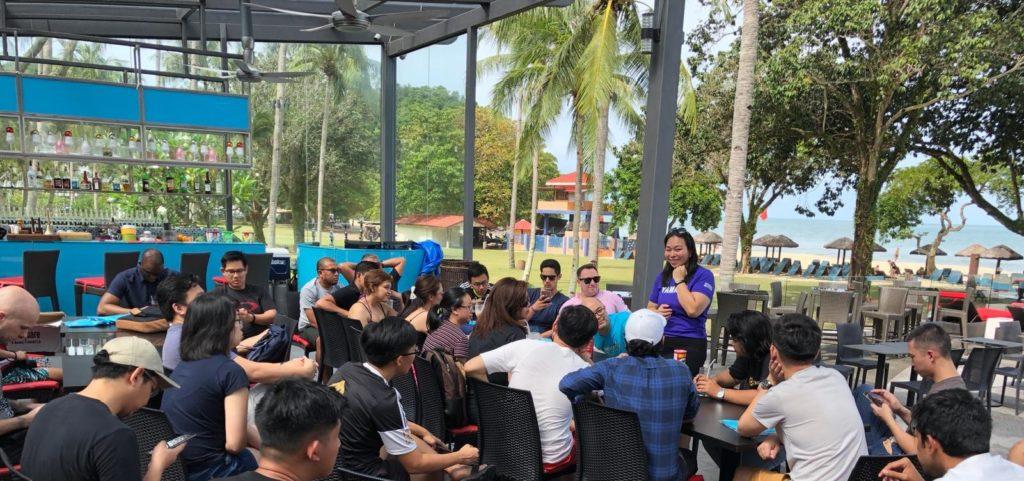 fintech barcamp langkawi 2018 unconference hong leong beach