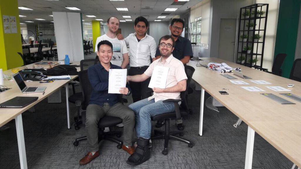 blockchain malaysia luxtag