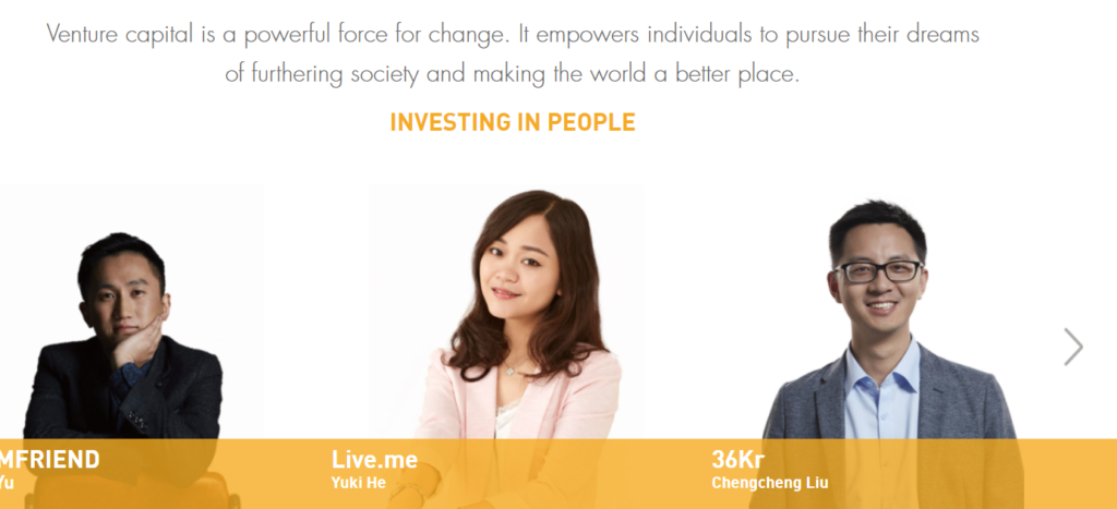 fintech investors venture capitalist companies VC Gobi Partners