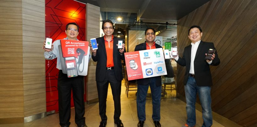 CIMB Introduces QR Terminal — 6 Major Wallets Accepted