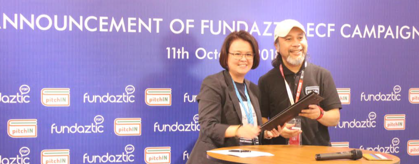 P2P Lending Player Fundaztic to Raise RM3 Million Through pitchIN