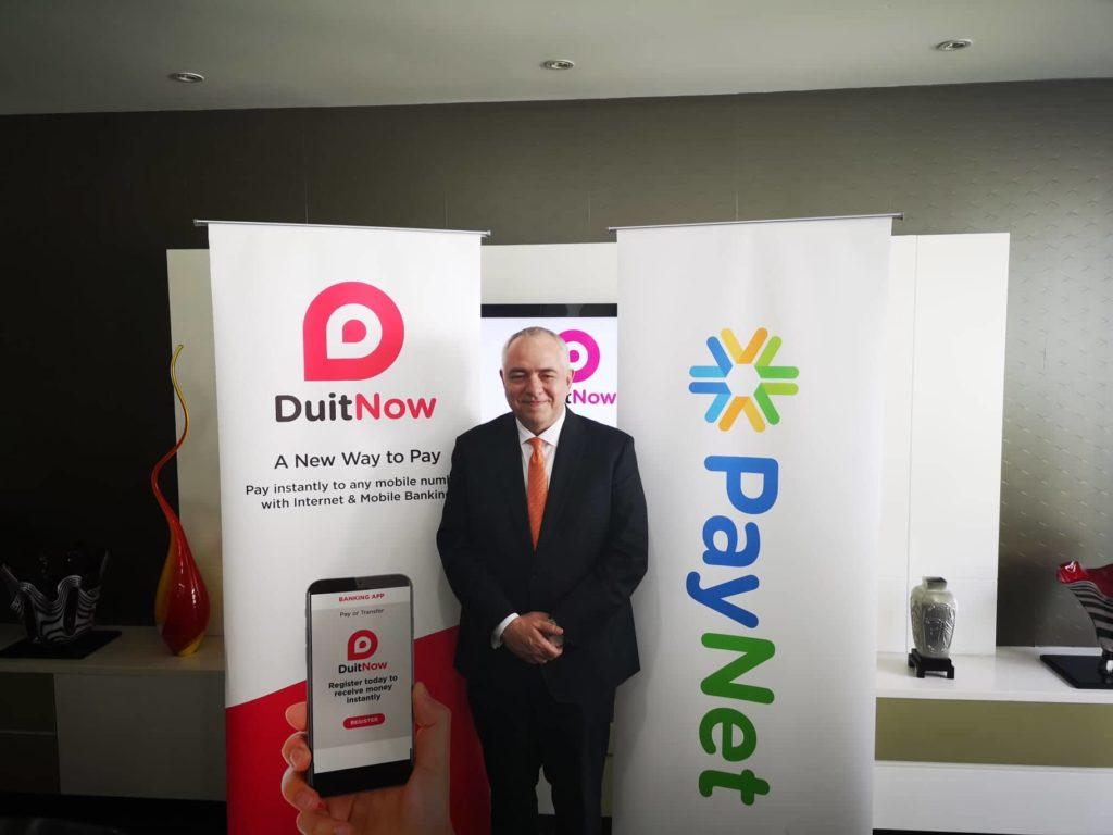duitnow PayNet CEO Peter Schisser