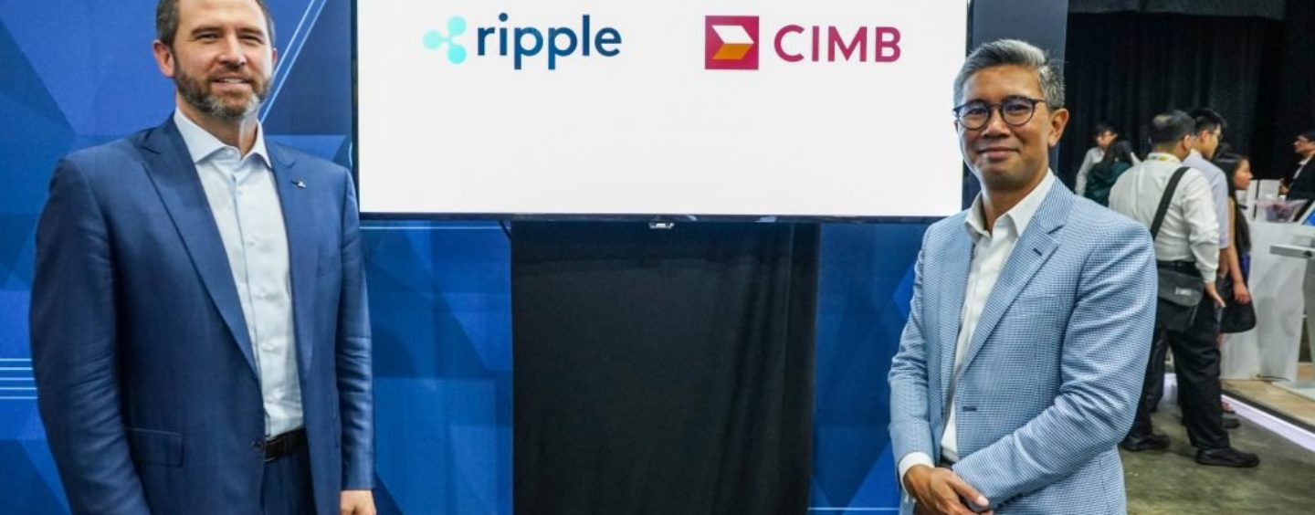 CIMB Becomes the First Malaysian Bank to Join Ripple's Network