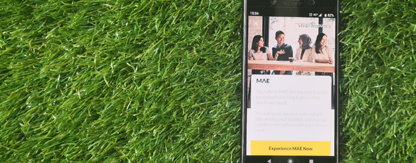 Maybank Aims to Convert Its 4.5 Million Mobile Users to Their New E-Wallet MAE