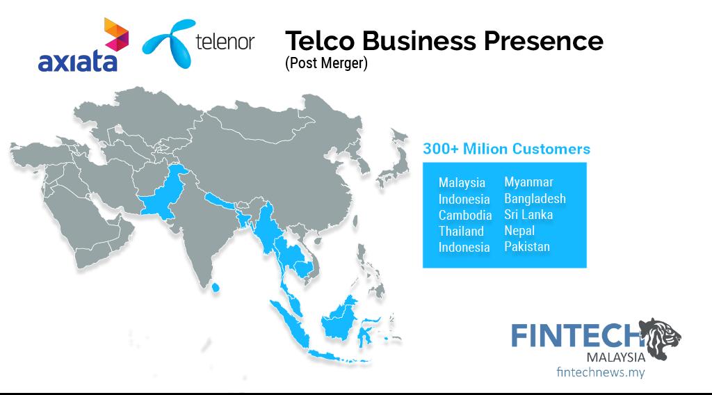 Boost-Digi-Axiata-Telenor-Celcom-Merger Telco Presence