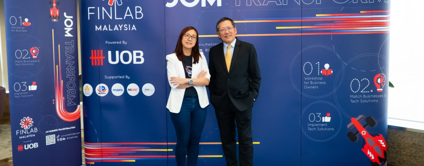 UOB Finlab's Jom Transform Goes Digital This Year