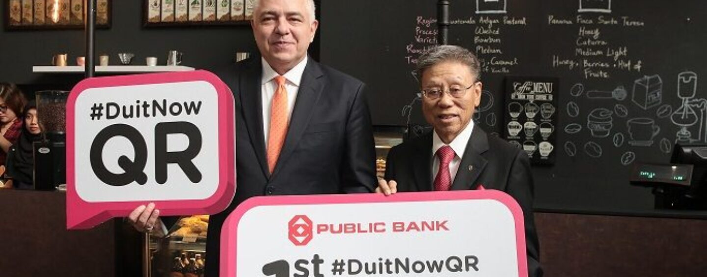 Public Bank First to Adopt DuitNow QR