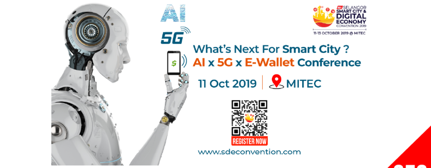 E-Wallet CEOs to Discuss the Future of Fintech at The Selangor Smart City Convention