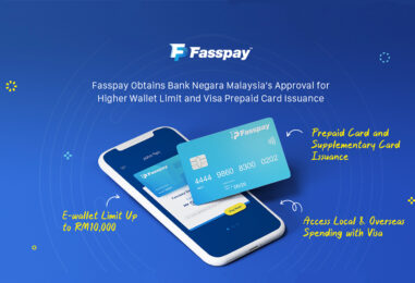 Fasspay's White Label E-Wallet Solution Receives BNM Approval for RM 10,000 Limit