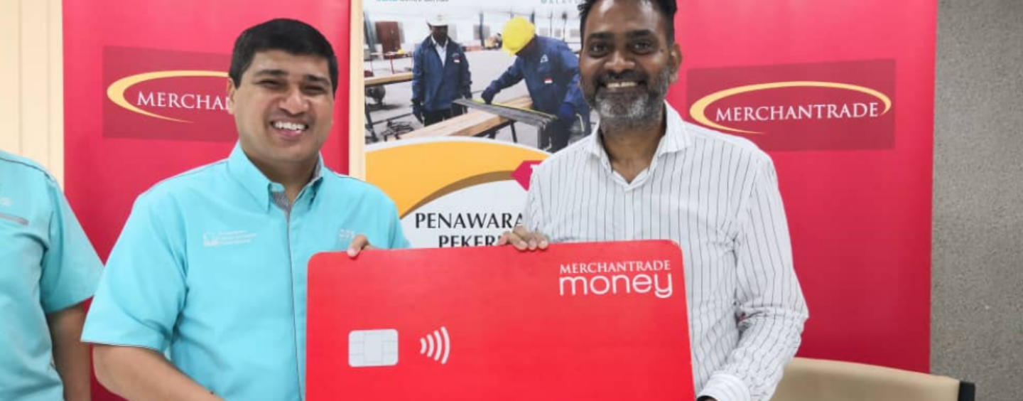 Merchantrade and Construction Manpower Firm to Facilitate Cashless Wages for Workers