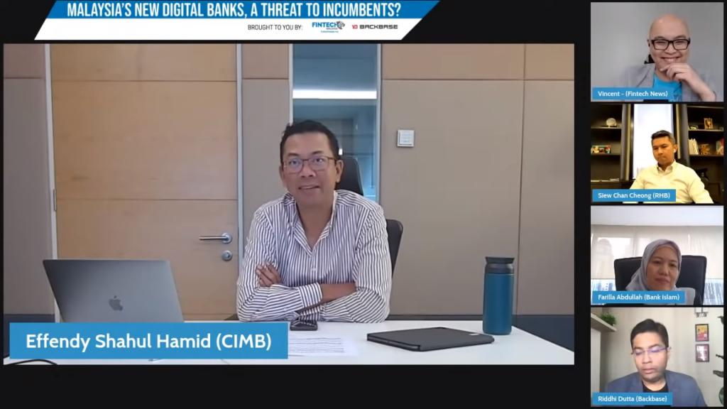 Effendy Shahul Hamid, CEO of CIMB Digital Assets and CIMB Group