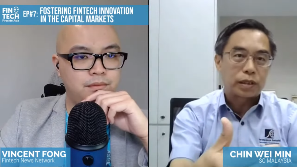 EP #7_ Fostering Fintech Innovation in the Capital Market ft. Wei Min, SC Malaysia 11-17 screenshot