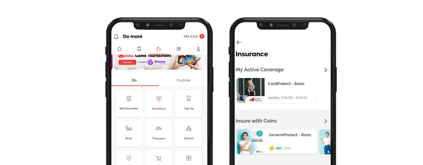 E-Wallet Boost Launches Three More Insurance and Takaful Plans
